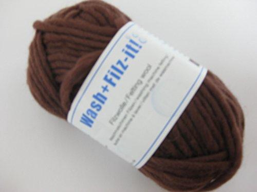 Schachenmayr Wash+filz-it, 3 chocolate
