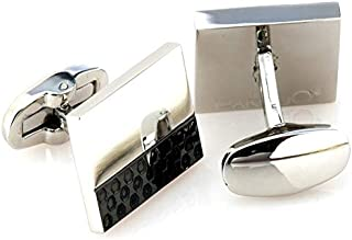 PAREJO CLV-0501 BL STAINLESS CUFFLINK FOR MEN