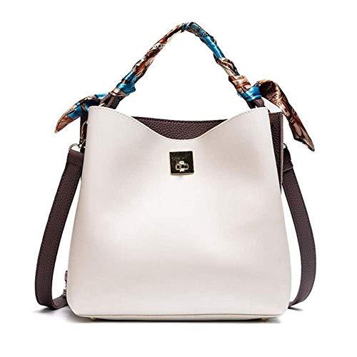 Thumby handtas voor dames met gekruiste vakken voor dames en meisjes, 22 x 23 x 9 cm
