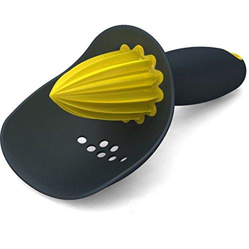 RENCALO Herramienta exprimidor de Prensa de la Mano Creativa Manual Vegetal Anaranjado del limón Exprimidor de Fruta-Negro