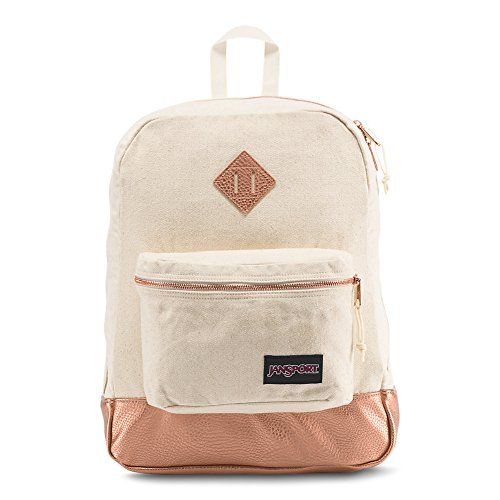 JanSport Super FX Backpack - Rose Gold