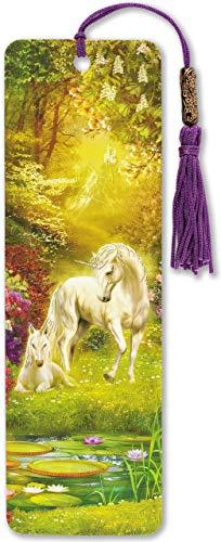 Unicorn Beaded Bookmark
