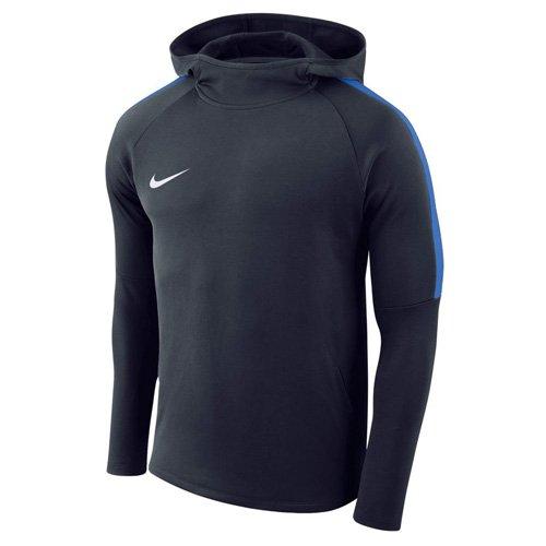 Nike Herren Academy18 Hoodie Kapuzensweatshirt, Blau (Royal blue/White/451), Gr. XL