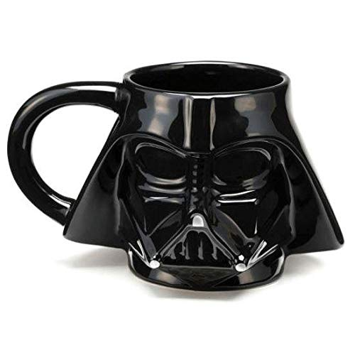 Caneca Cerâmica 3d Darth Vader - Star Wars - 350 ml