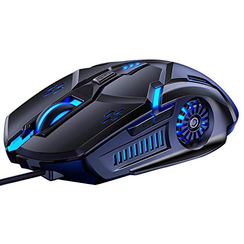 Sidougeri Maus G5 Wired Gaming Mouse Wired Mouse 6D 4-Gang DPI RGB Gaming Mouse Für PUBG