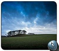 イギリススコットランドグラスバレー木青い空雲マウスパッドアンチスリップデスクトップマウスパッドゲームマウスパッド