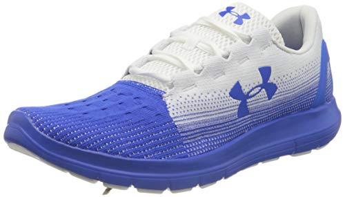 Under Armour UA Remix 2.0, Zapatillas de Running, Deportivas para Hombre, Blanco (White/Versa Blue/Versa Blue (104) 104), 44 EU