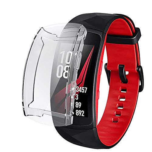 iHYQ Screen Protector Case for Samsung Gear Fit 2 Pro,TPU Full Protection Scratch ResistantCover Slim for Samsung Gear Fit2 Pro Accessory