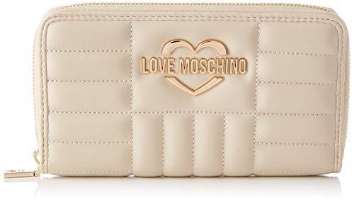 Love Moschino Precollezione SS21   Portafoglio da Donna, Beige, Normal