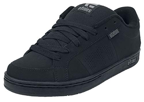 Etnies Unisex KINGPIN Sneakers, Schwarz (003-Black/Black), 45 EU