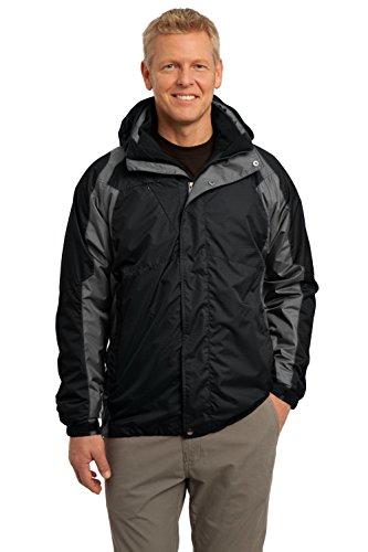 Port Authority® Ranger 3-in-1 Jacket. J310 Black/ Ink Grey 3XL