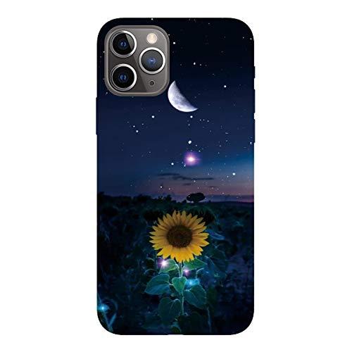 ChoosEU Compatibile con Cover iPhone 11 PRO (5.8) Silicone Nero Disegni Colorate Custodia Morbido...
