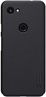 Nillkin GPX3A-NL-SF-B Google Pixel 3a Super Frosted Hard Phone Case With Stand - Black