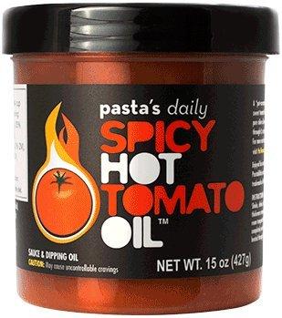 Pasta's Daily Spicy Hot Tomato Oil