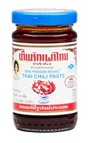 Mae Pranom Chilipaste Nam Prik in Öl 114g