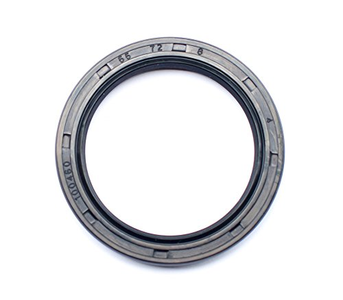 EAI Oil Seal 55mm X 72mm X 8mm TC Double Lip w/Spring. Metal Case w/Nitrile Rubber Coating