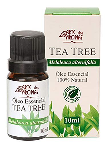 Tea Tree Óleo Essencial Vegano Natural Arte dos Aromas 10ml