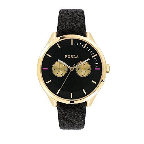 FURLA Reloj Analógico para Mujer de Cuarzo con Correa en Cuero R4251102501