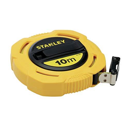 Stanley Cinta métrica arrollable Fibra de Vidrio, 10 m, 0-34-295