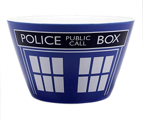 Half Moon Bay Doctor Who - Müslischüssel Müslischale - Tardis - Police Box - Time Lord