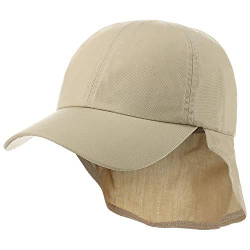 Hutshopping Nomad Safari Cap Damen/Herren - Basecap aus 40% Baumwolle, 60% Nylon - Schirmmütze One Size (56-60 cm) - Kappe mit Nackenschutz - Baseballcap in Beige