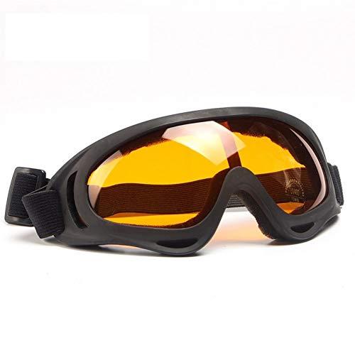 ZHENEN Schutzbrillen Herrenreitwinddicht Brille Antibeschlag und Staubdicht 5 Farben Optional Nachtsichtschutzbrille 1 Stück, M4005