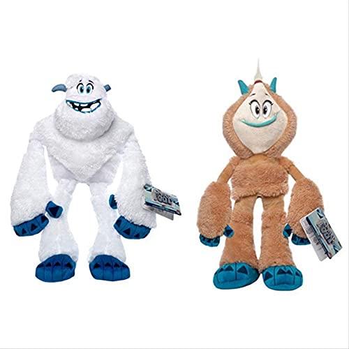 2 piezas de juguetes de peluche encantador monstruo Migo Kolka muñecos de peluche de 25 cm para decoración del hogar dormitorio sofá coche Oficina decorativa