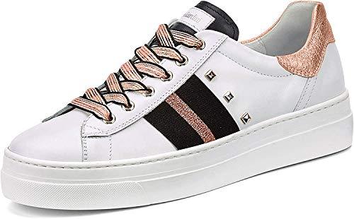 Nero Giardini 0674D Sneakers con Lacci in Pelle Donna