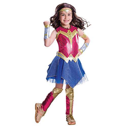 Denise Lamb Wonder Woman Dress Cosplay Disfraz de Halloween para Adultos Niños