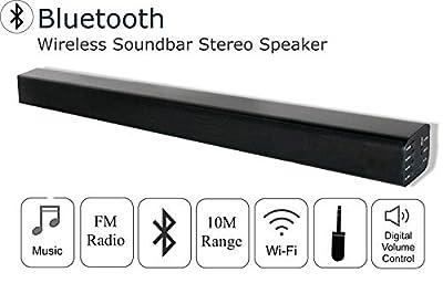 Groundlevel bluetooth TV soundbar/speaker, sleek black finish - FREE Next day Delivery !! from Groundlevel