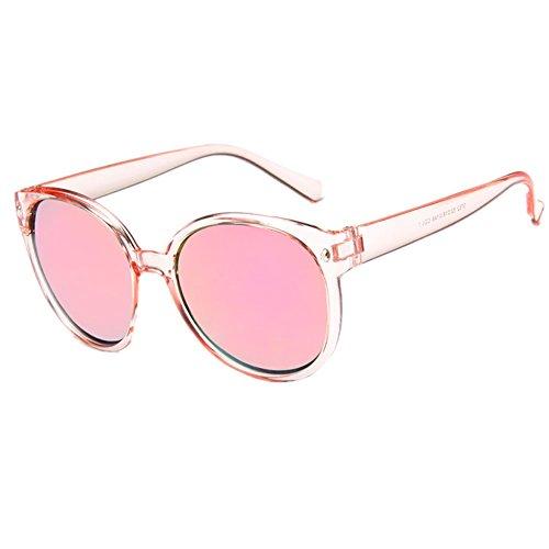 O-C Women's new classical stylish mirrored sunglasses