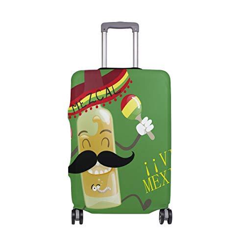 ALINLO México Dia de los Muertos Funda de equipaje para maleta de 18 a 32 pulgadas