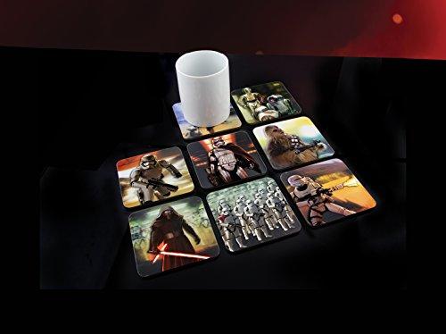 Paladone Star Wars 3D Sottobicchieri DT, multicolore, 2 x 10 x 10 cm