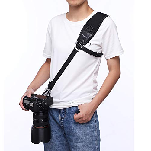 Nicama CS1 Camera Shoulder Strap Quick Rapid Sling Neck Belt for All DSLR Cameras Canon Nikon Pentax Olympus Fujifilm X100F X-T20 X-T2 X70 X-Pro2,Sony A6000 A630