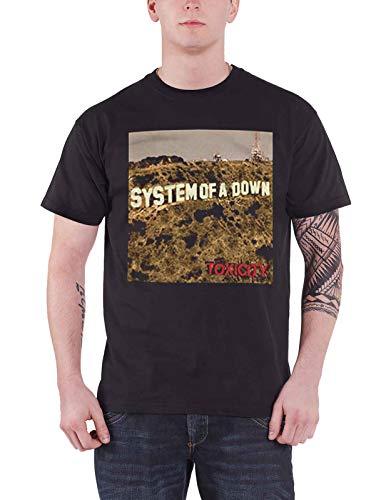 System of a Down T Shirt Toxicity Nue offiziell Schwarz Herren