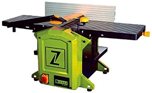 Zipper HB305 cepilladora eléctrica 1800 W 8500 RPM Verde - Lijadora (310 mm, 1075 mm, 42 kg, Corriente alterna)