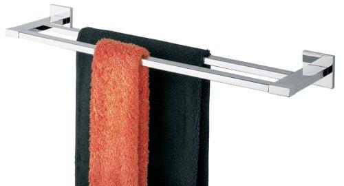 Tiger 2836 Badserie Items Handtuchhalter doppelt, chrom