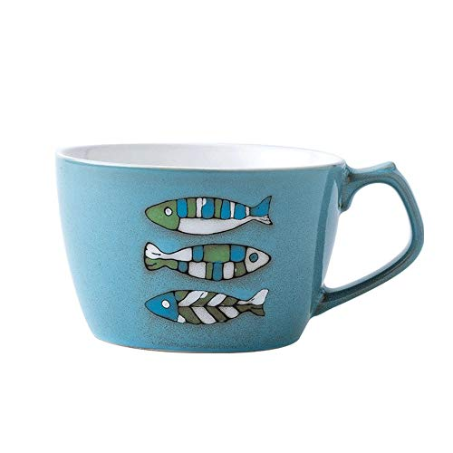Rghfn Barrigones de cerámica de estilo europeo de la taza de café...