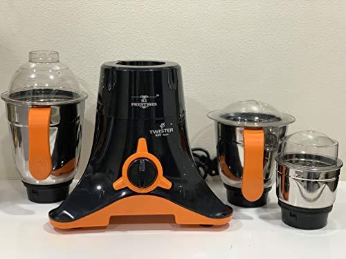 HI PRESTIGES 600W Mixer Grinder (Black and Orange)