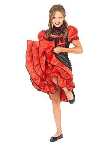 Disfraz Infantil Chica Saloon T. 128