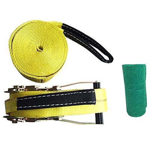 IDWX 10m Deportes Extremos Al Aire Libre Estilo Slackline Engrosamiento Cuerda Suave Fitness Balance Cuerda Hamaca Silla Columpio