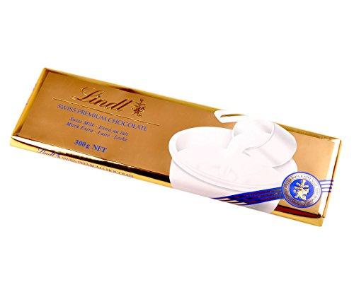 Lindt - Swiss Premium Chocolate Milk Schokoladentafel - 300g