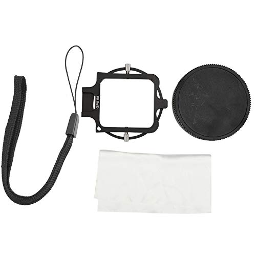 RANNYY Filtro de Lente Macro 16X, Filtro de Lente Macro Profesional 16X para cámaras de acción Deportiva Gopro5 Filtros de Buceo subacuático