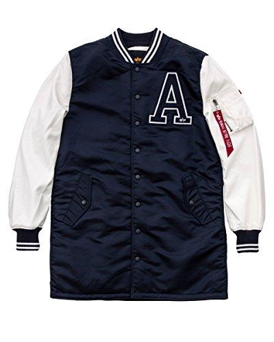Alpha Industries Jacke MA-1 College Coat, Größe:2XL, Farbe:rep.Blue