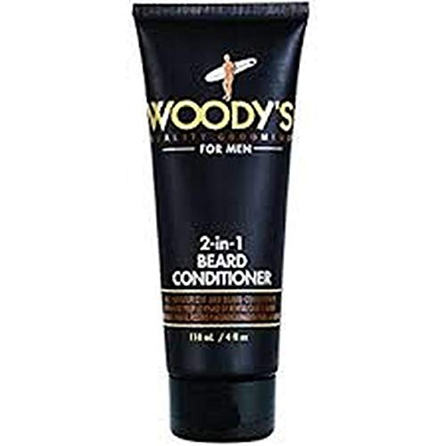 Woody's 2-in-1 Bart-Conditioner, 118 ml
