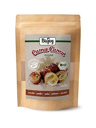 CAMU CAMU EN POUDRE BIO | 100% de fruits de camu camu naturels, délicatement séchés et convertis en poudre (250 gr)