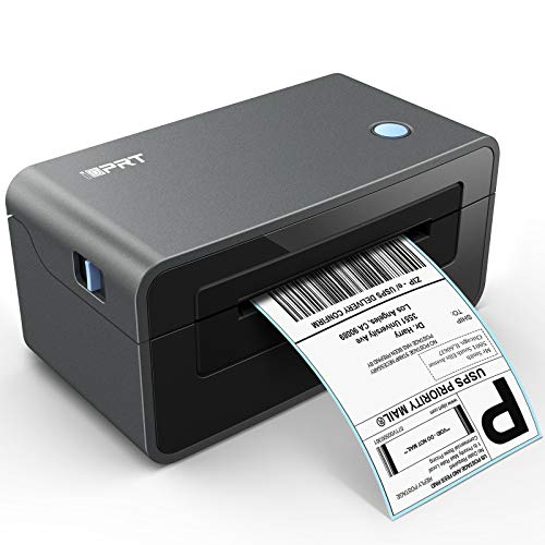 Thermal Label Printer - iDPRT SP410 Thermal Shipping Label Printer, 4x6 Lable Printer, Commercial Direct Thermal Label Maker, Compatible with Shopify, Ebay, Amazon &Etsy, Support Multiple Systems