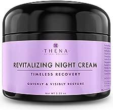 Night Cream Anti Aging Wrinkle Cream With Vitamin A (Retinol) E & C Hyaluronic Acid, Collagen Regenerating Organic Natural Skin Care For Women Men, Under Eye Cream Facial Face Moisturizer