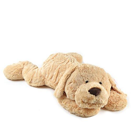 Pink Papaya Riesen Kuschel-Hund Lucy, 100cm XXL Plüsch-Hund in Hellbraun, Stoff-Hund, Teddybär zum Liebhaben Toys