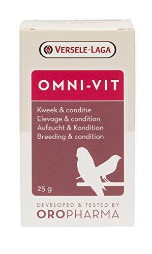 Versele-Laga Oropharam-Omni-Vit - Integratore alimentare per uccelli, 200 g